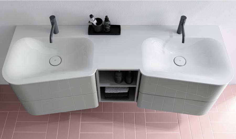 Doppelwaschrisch Badu von burgbad