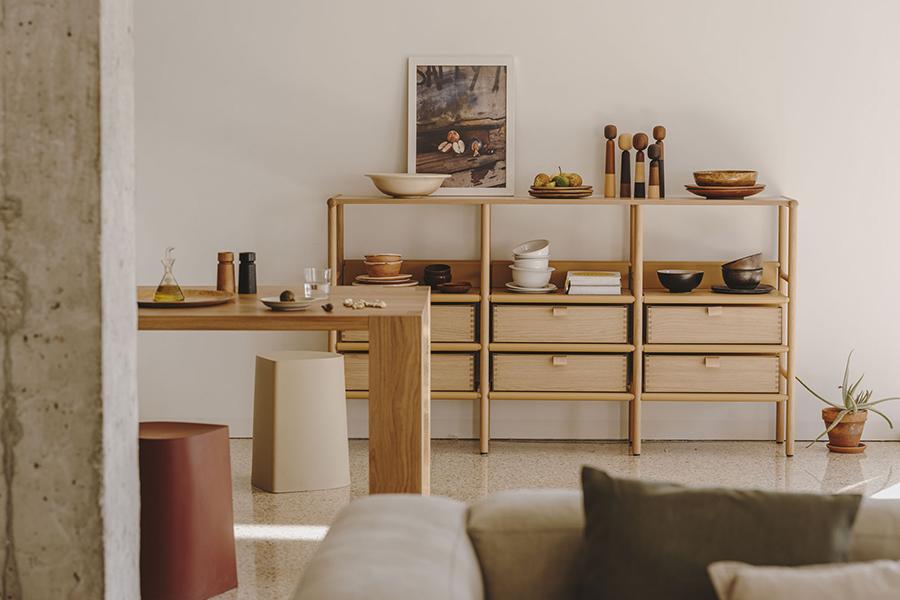 Setzt auf nachhaltige Materialien: die Capsule Collection MYA von burgbad und Jeannette Altherr.