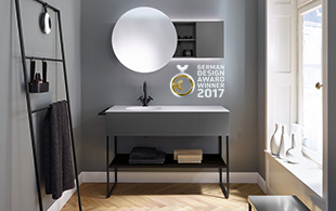 Premium bathroom furniture designer and luxury bathrooms for Miroir winners