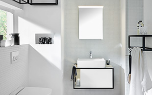 hochwertige badm bel und design b der burgbad. Black Bedroom Furniture Sets. Home Design Ideas