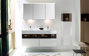 Ikea lillangen hoge badkamerkast met poten te koop dehands be
