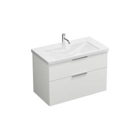 Keramik-Waschtisch inkl. Waschtischunterschrank SEYQ093 ...