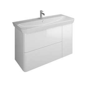 ceramic washbasin incl vanity unit sfez120 bathroom furniture serie iveo burgbad