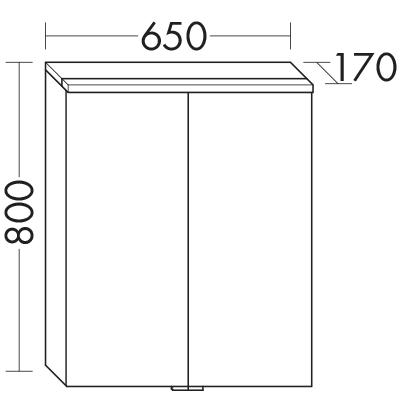 spiegelschrank spgs065 badm bel serie eqio burgbad. Black Bedroom Furniture Sets. Home Design Ideas