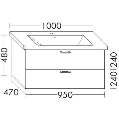 waschtischunterschrank zu ideal standard connect e8126xx. Black Bedroom Furniture Sets. Home Design Ideas