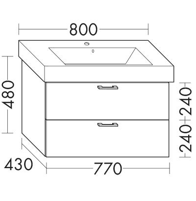waschtischunterschrank zu ideal standard strada k0788xx wuml077 badm bel serie sys30 echo. Black Bedroom Furniture Sets. Home Design Ideas