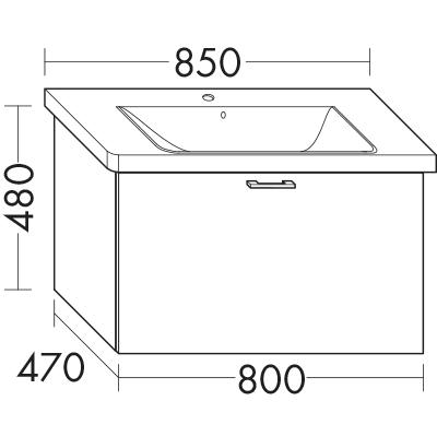 waschtischunterschrank zu ideal standard connect e8127xx. Black Bedroom Furniture Sets. Home Design Ideas