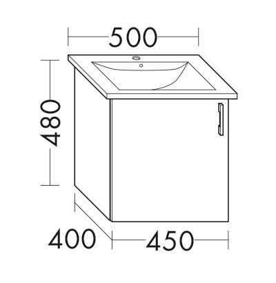 Waschtischunterschrank Zu Villeroy Boch Venticello 4124 50 Xx