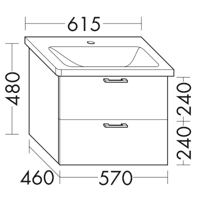 waschtischunterschrank zu ideal standard tonic ii k0878xx wvcd057 badm bel serie sys30 aqua. Black Bedroom Furniture Sets. Home Design Ideas