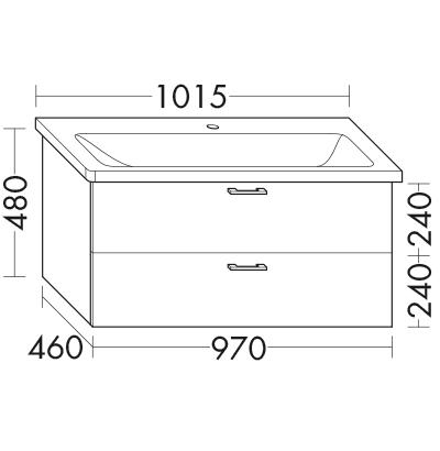 waschtischunterschrank zu ideal standard tonic ii k0872xx wvcd097 badm bel serie sys30 sana. Black Bedroom Furniture Sets. Home Design Ideas
