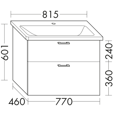 waschtischunterschrank zu ideal standard tonic ii k0879xx wvce077 badm bel serie sys30 echo. Black Bedroom Furniture Sets. Home Design Ideas