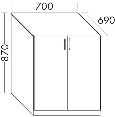 waschmaschinenschrank zu waschtisch sys m5 sys g2 waschmaschinenl sung wvjh070 badm bel. Black Bedroom Furniture Sets. Home Design Ideas