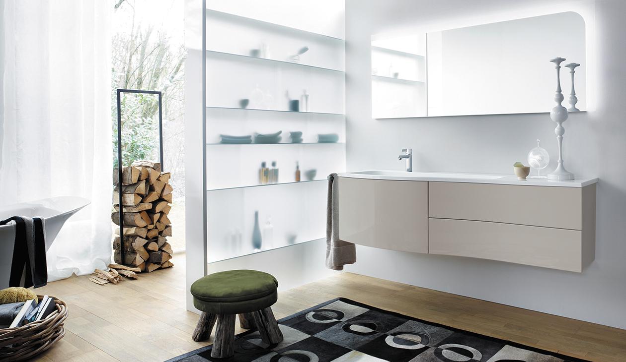 Bathroom furniture   Serie Sinea   Burgbad