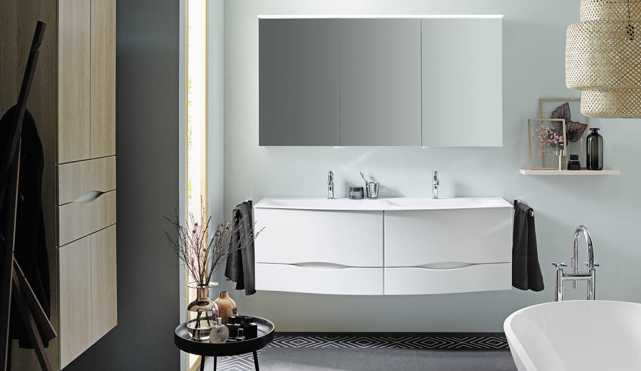 Meubles de salle de bain - Série Sinea 220.20  Burgbad