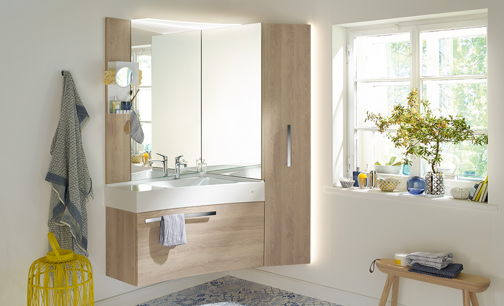 badm bel serie sys30 echo burgbad. Black Bedroom Furniture Sets. Home Design Ideas