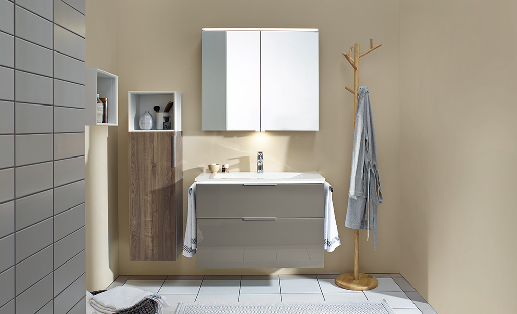 Bathroom Furniture Serie Eqio Burgbad