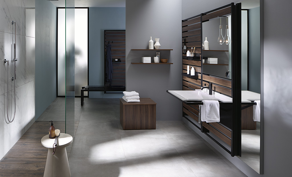 badm bel serie sys30 flex burgbad. Black Bedroom Furniture Sets. Home Design Ideas