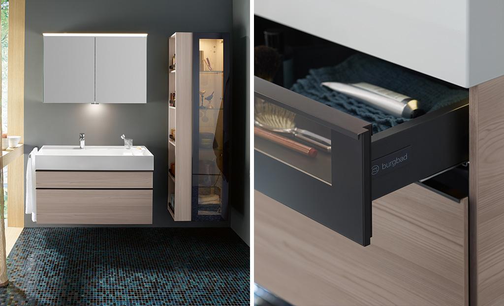 badm bel serie yumo burgbad. Black Bedroom Furniture Sets. Home Design Ideas