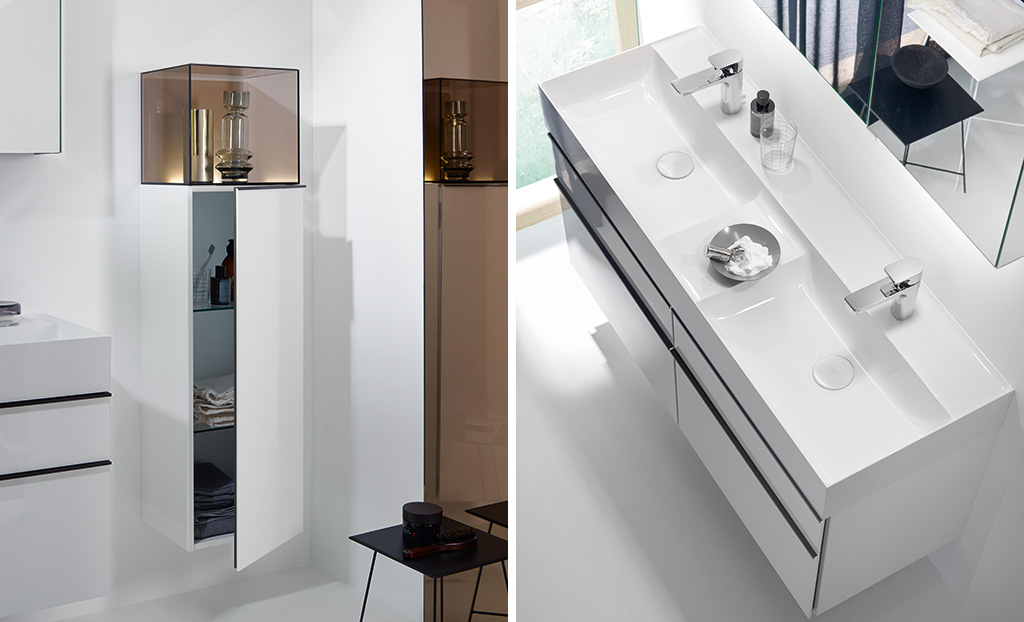 Bathroom Furniture Serie Yumo Burgbad