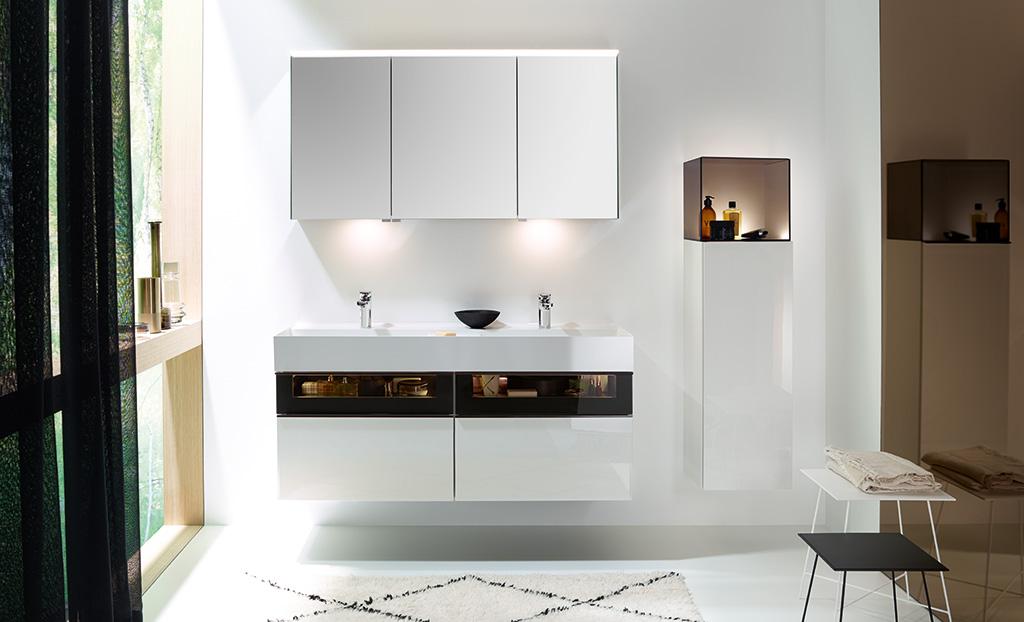 Bathroom Furniture Serie Yumo Burgbad