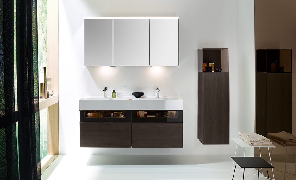 Moderne badezimmermöbel holz  Badmöbel - Serie Yumo | Burgbad