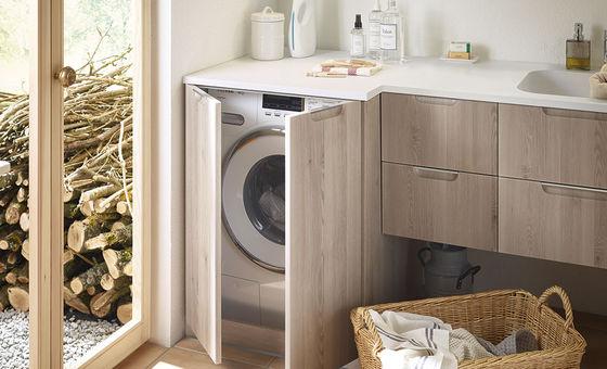 Badmobel Mit Waschmaschinenschrank.Badmobel Serie Sys30 Echo Burgbad
