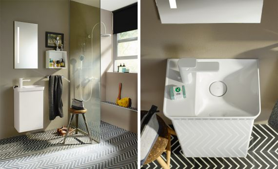 Bathroom Furniture Serie Iveo Burgbad