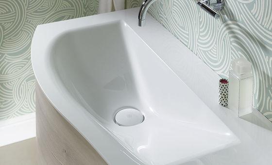 yso geschwungener waschtisch mit ber beispiele f r. Black Bedroom Furniture Sets. Home Design Ideas